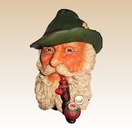 """Bossons Wall Plaque - """"Tyrolean"""" - So Realistic!  England, circa 1960s"""