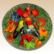 "RICK AYOTTE -  ""Soul Mates"" - Exquisite Paperweight Signed Very Limited Edition Of Only 25"