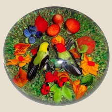 """RICK AYOTTE -  """"Soul Mates"""" - Exquisite Paperweight Signed Very Limited Edition Of Only 25"""