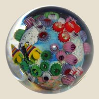 STEVEN LUNDBERG - Personally Signed/Dated Unusual Paperweight With Fish and Barnacles circa 1997