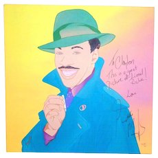 EDDIE MURPHY - Large Signed Clayton Lefevre Painting (Signed by Eddie Murphy And The Artist)