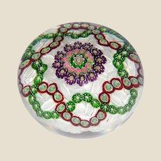 CLICHY - Outstanding Antique Classic Period Paperweight