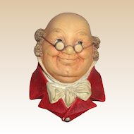 Bossons Wall Plaque - Mr. Pickwick - A Delightful Dickens Character!