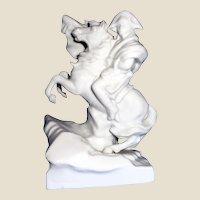 Blanc De Chine Porcelain - Napoleon On Horseback