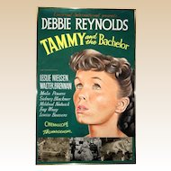 "Debbie Reynolds ""Tammy And The Bachelor"" Original Gouache Hand-Painted Artwork By John Lomasney, Circa 1957."