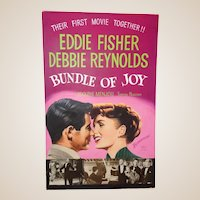 Original Hand-Painted Debbie Reynolds Theatre Lobby Artwork By John Lomasney