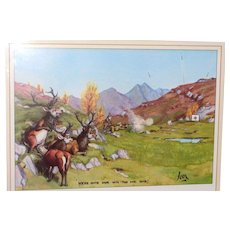 """LARRY HAGMAN'S ESTATE - """"Joon"""" Signed Numbered Limited Edition With Personal Note"""
