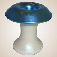 Steven Lundberg Glass Art - Unusual Signed Cabinet Vase or Paperweight,