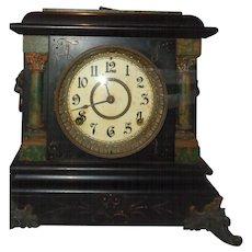 Early 20th Century Seth Thomas Mantle Clock. Has Key and Pendulum.