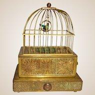 Antique Eschle Singing Bird Music Box, Germany, Circa 1910