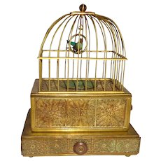 Antique Eschle Singing Bird Music Box, Germany, Circa 1910