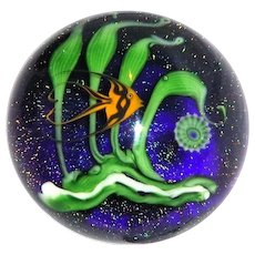 Two Of The Most Acclaimed Names In Glass Art - Chris Buzzini and Lundberg Studios, Artist's Proof, Signed/Dated 1980