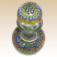Murano Art Glass Millefiori Decanter