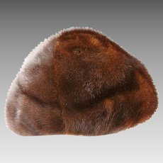Gwenn Pennington Exclusive Mink Fur Hat/Cap