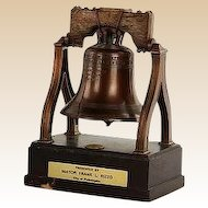 Philadelphia Liberty Bell - Gifted To General Alexander M. Haig Jr., U. S. Secretary of State under Reagan, by Mayor Frank Rizzo