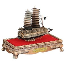 Miniature Korean Turtle Ship From The Estate Of General Alexander M. Haig Jr., U. S. Secretary of State under President Ronald Reagan.