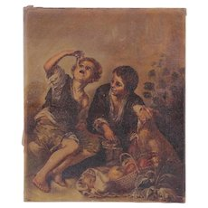 Continental School, 19th Century, Oil on Canvas
