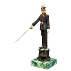 Belgian Royal Military Sentinel Model Presented To General Alexander Haig (U. S. Secretary Of State Under President Reagan)