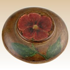 Small And Special Hand-Painted Box, Signed and Dated 1945