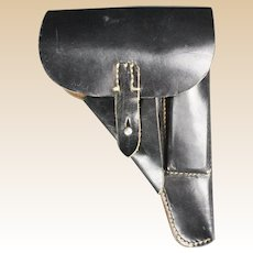 , WWII, German, WWII, Leather P-38 Pistol Holster