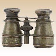Vintage German FABR. EMIL Binoculars