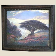 "James Stuart Blackton (British, 1875-1941), Original Signed ""Matriarch of the Silver Seas"" (Point Lobos, Monterey, California)"