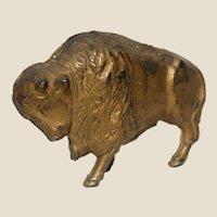Buffalo or Bison Cast Iron Bank, Vintage or Older