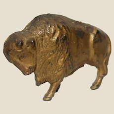 Buffalo or Bison Cast Iron Bank, Vintage or Older