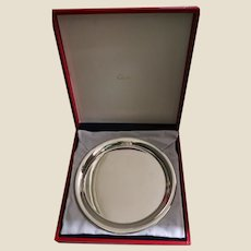 CARTIER (France) - Charger - In Original Box - 11 inches Diameter