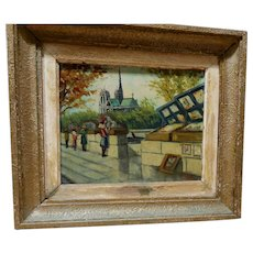 "J. BEYLY (20th Century) - Signed Original Oil On Canvas - ""Autumn"""