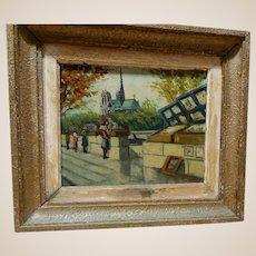 "J. BEYLY (20th Century) - Signed Original Oil On Canvas - ""Autumn"""