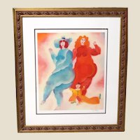 """""""MY FRIEND"""" - Well-Listed Artist Harry Guttman (Romanian 1933-2015) Signed Limited Edition Seriolithograph"""