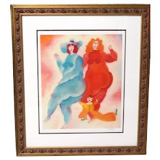 """MY FRIEND"" - Well-Listed Artist Harry Guttman (Romanian 1933-2015) Signed Limited Edition Seriolithograph"