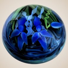 Justin Scott Lundberg (American 1978 - 2019) - Outstanding  Signed/Numbered  Limited Edition (2/25) Large Paperweight
