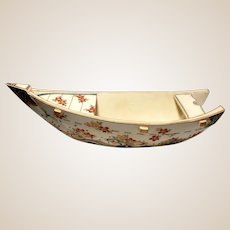 Japanese Satsuma Boat, Meiji Period