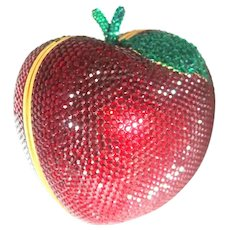The Ultimate Valentine's Day Gift!  Kathrine Baumann Swarovski Apple Minaudiere