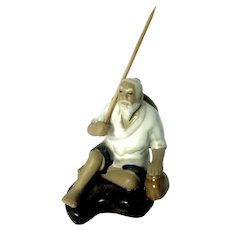 Chinese Mudman Fisherman - Mid 20th Century