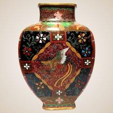 Japanese Cloisonne Vase, Meiji/Taisho Period