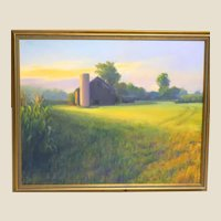 "Susan Novak Williams, (American, born 1945) - Original Signed Oil On Canvas ""Morning Light"""