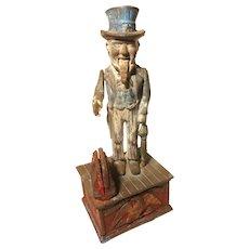Uncle Sam Mechanical Bank, Vintage or Older
