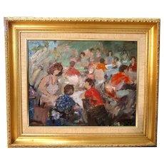 Gregorio Camacho (Venezuelan B. 1933) -Original Fine Impressionist Oil on Canvas