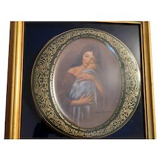 """Mother's Love"" - Pickard China - by Irene Spencer  - First Edition - Ltd/Numbered Collectors Plate"