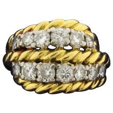 Vintage Van Cleef and Arpels 1ct TW Diamond Ring