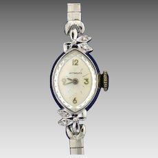 Antique Women's Wittnauer Watch with Diamonds