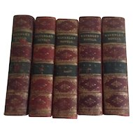 Waverly Novels, Edinburgh, in Five Volumes, 1891