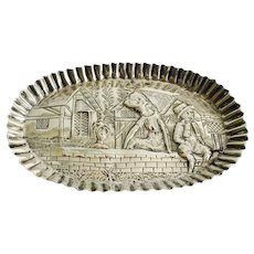 1884 English Sterling Silver Vanity Tray
