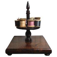 English Wooden Thread Spool Holder  c.1900
