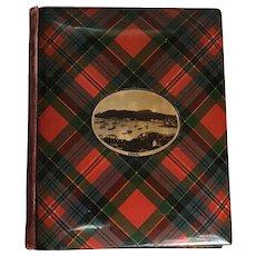 Scottish Tartan Ware Birthday Book, C.1900