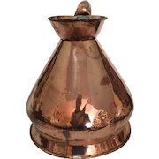 Large 2-Gallon Copper Ale Harvest/Haystack Jug with Custom and Excise Stamp