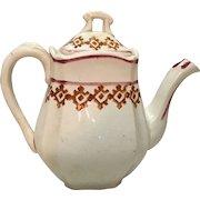 1890 Child's English Toy Teapot